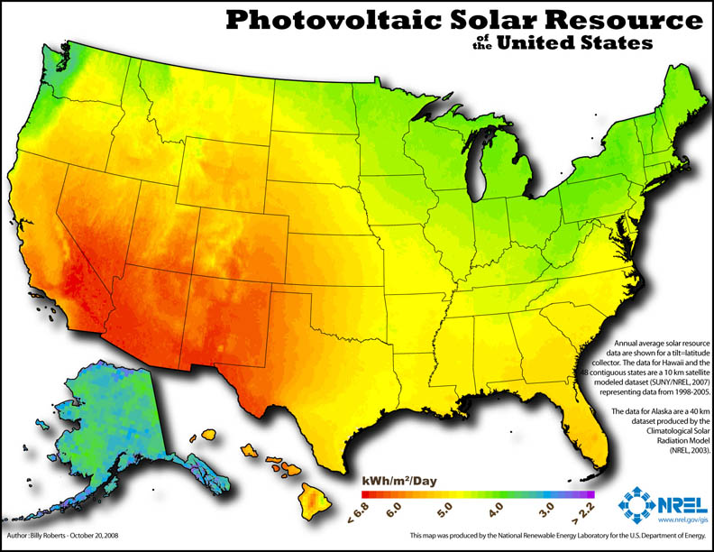 How Do I Find My Home Or Business Solar Potential - Solar panel map us