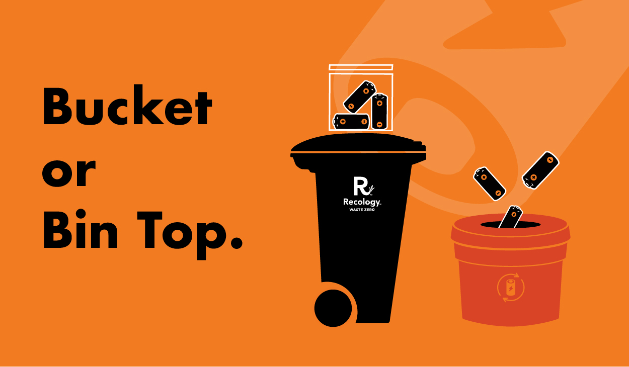 Bucket or bin top