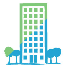 Apartment Building Graphic apartment building graphic tall with blue o ideas