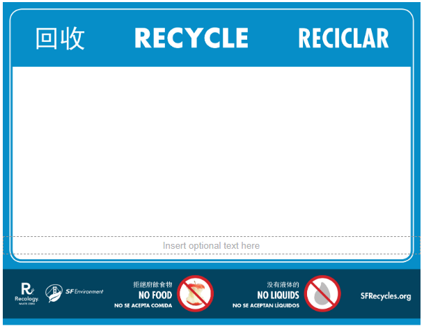 Recycle Blank