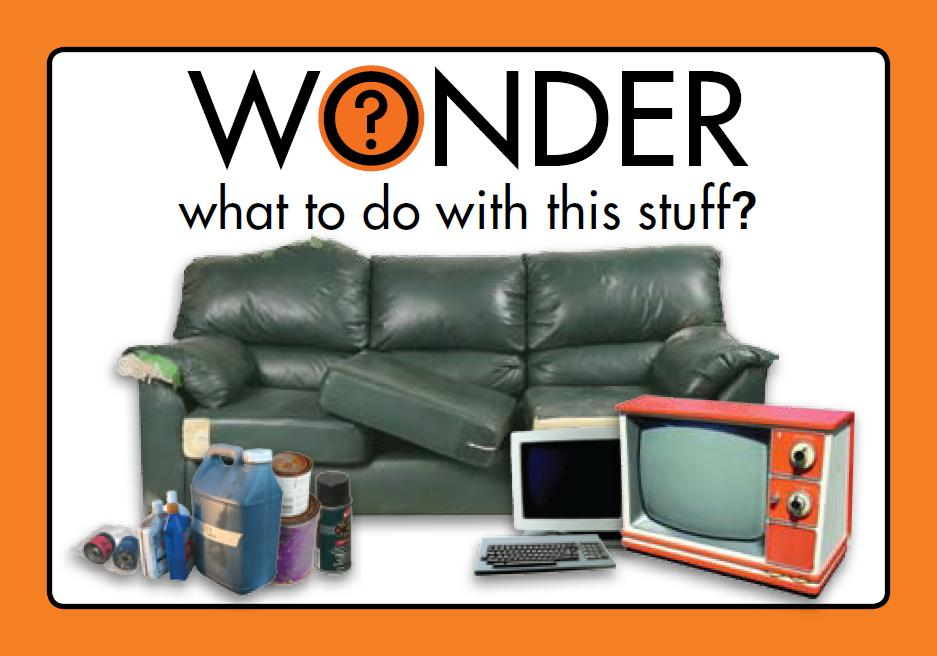 Get Rid of Bulky Items (Couches, Electronics