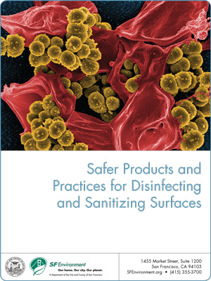Disinfectants report cover
