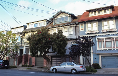 photo of home in sf neighborhood inner sunset