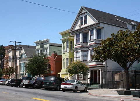 photo of residential home in the Mission district, SF