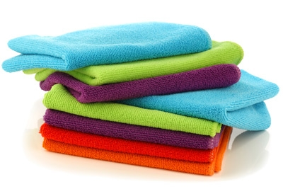 photo of microfiber cloths