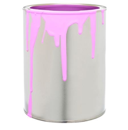 photo of paint can