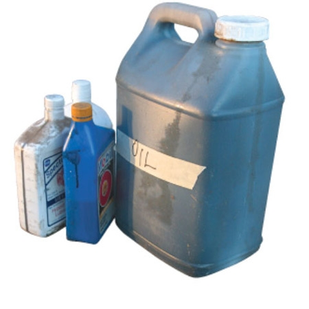 recycle your used motor oil properly