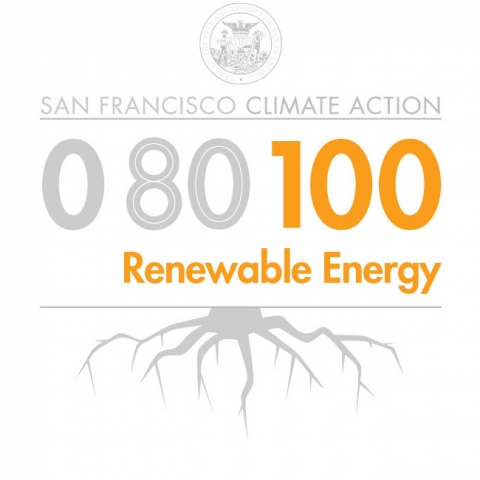 100% Renewable Energy graphic