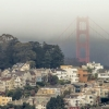 Foggy Day in San Francisco, with bridge showing